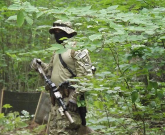 Bulletproof guard at Penokee Hills