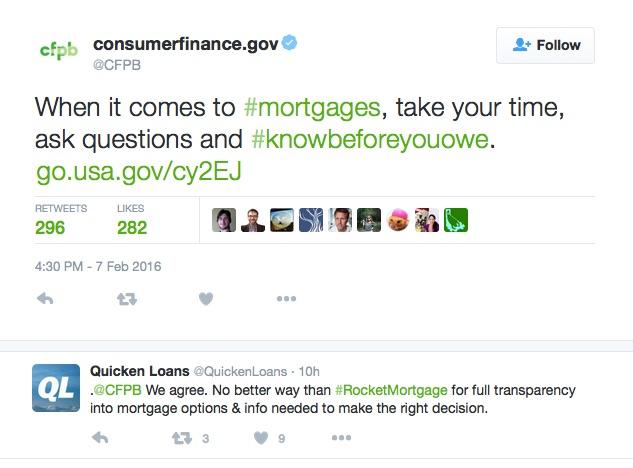 Quicken Loans Twitter